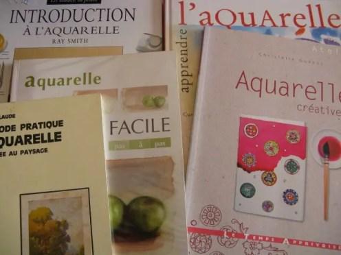 meilleurs livres pour apprendre l'aquarelle