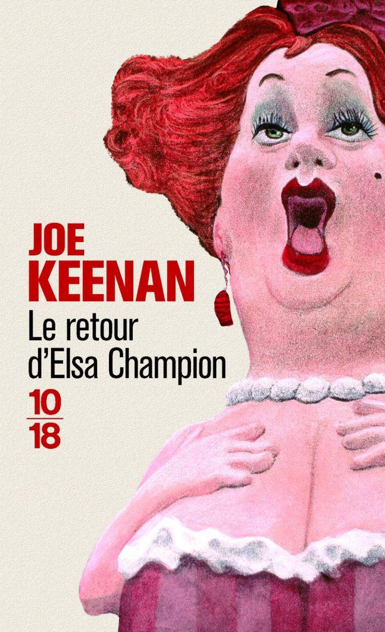 """Couverture """"Le retour d'Elsa Champion"""""""
