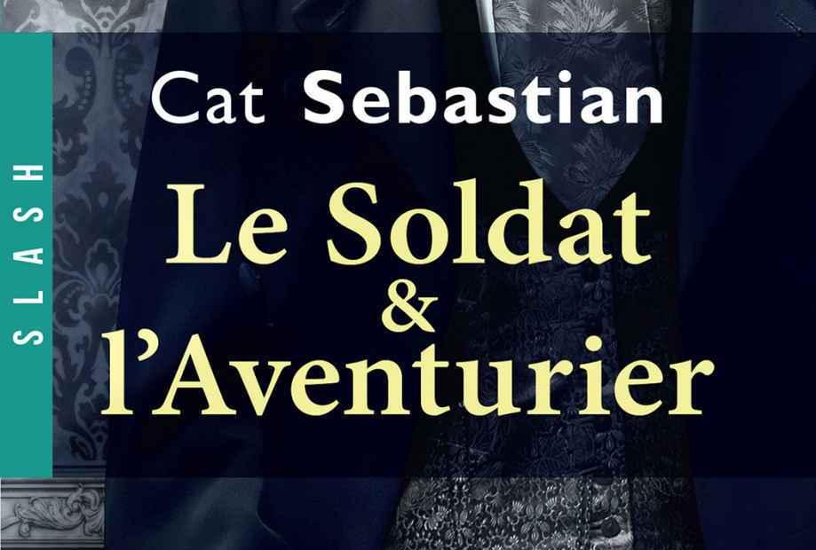 """Couverture """"Le Soldat et l'Aventurier"""""""