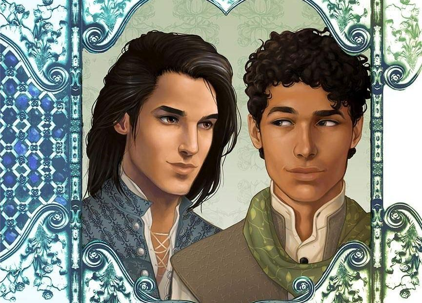 "Couverture de ""Master of Restless Shadows"", tome 1"