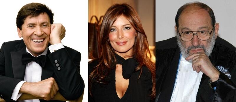Morandi, Lucarelli ed Eco. Tre persone con uguale diritto di parola.