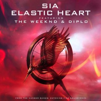 """Our blog sidebar says we are song-binging """"Elastic Heart"""". YES, WE ARE! Sia is all over our playlist! The video does justice to the lyrical depth."""