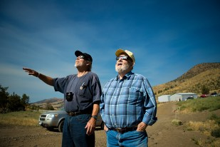 Casper and Rick, just a couple of minutes prior to totality.