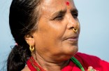 This woman is from Nepal, also on the ferry. I shot their entire family, but...she was my favorite.