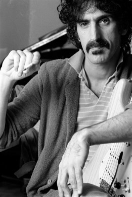 Frank Zappa photographed in his in-home studio, located in the Hollywood Hills.
