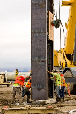 AECOM designed a slurry wall in East Palo Alto, in order for a tunnel to be built to deliver water.