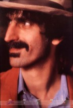This photograph of Frank Zappa was originally an album cover, which then became this poster.