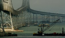 Tutor-Saliba retrofitted the Richmond-San Rafael Bridge in the Bay Area.