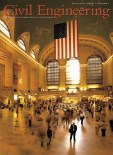 Another AECOM-oriented cover story, the retrofitting of Grand Central Station.
