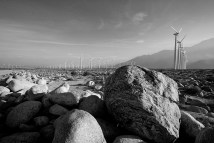 Palm Springs wind farm.