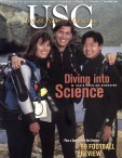This cover was done at the Wrigley Institute for Environmental Studies on the island of Catalina.