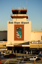 The main terminal and old tower at Burbank Airport, where I once sold newspapers after school, circa 1957. The Herald-Examiner.