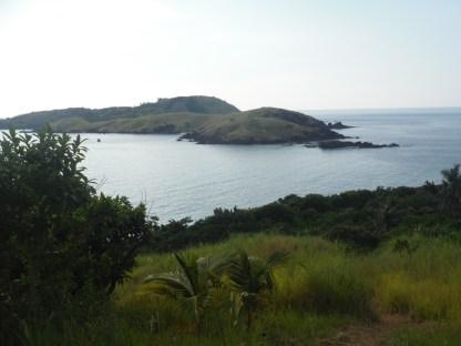 the adjacent island