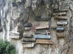 hanging coffins