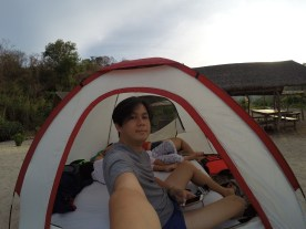 our 4 person tent