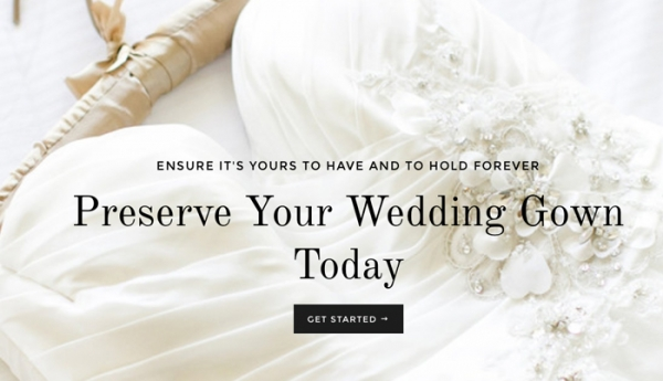 Bridal Gown Preservation Long