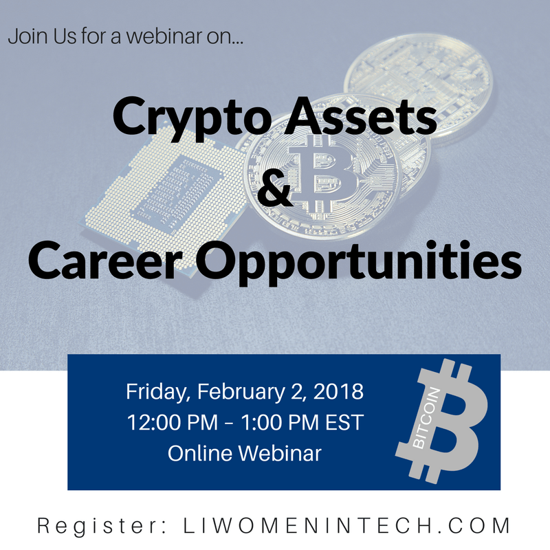 Webinar: Crypto Assets & Career Opportunities
