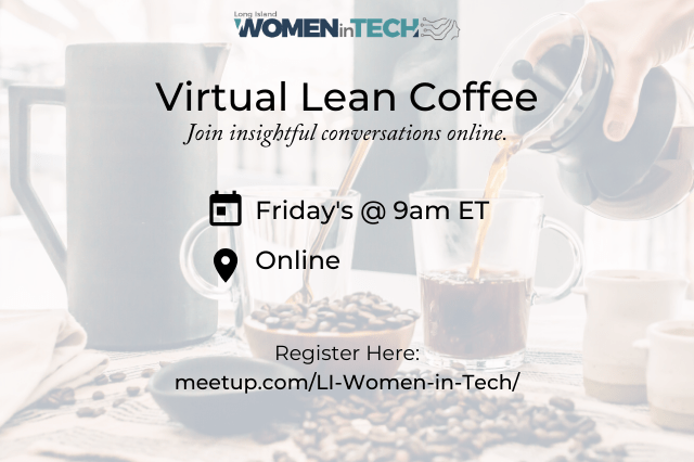 Lean Coffee Has Gone Virtual