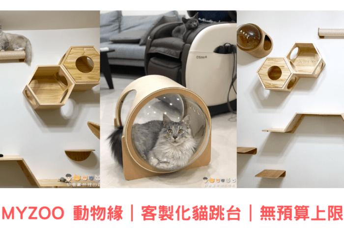 【貓咪傢俱】MYZOO 動物緣 客製化貓跳台 無預算上限打造夢幻貓牆