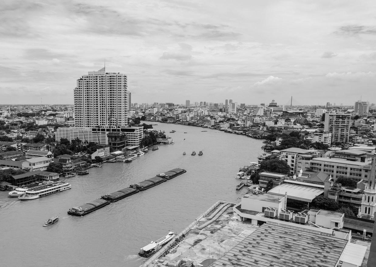 Bangkok City Chao Phraya River Street Photography Thailand