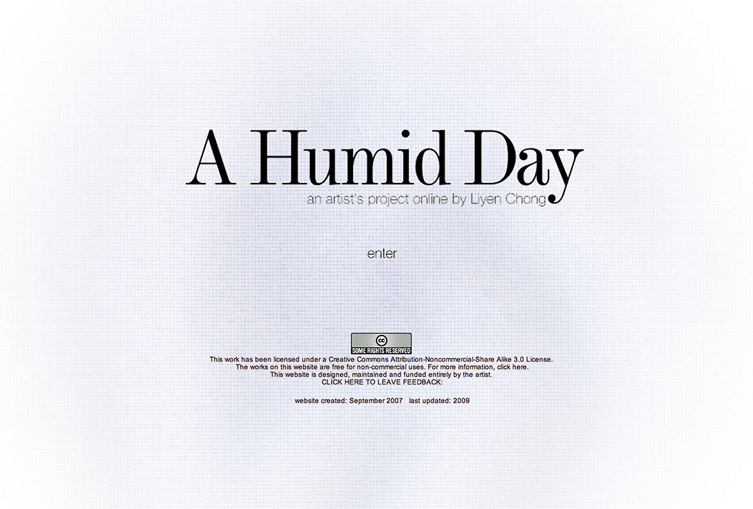 A Humid Day website. Formerly at www.ahumidday.info
