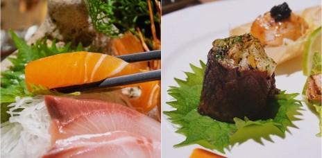 【中科商圈美食】1380元超平價無菜單料理,從刺身一直到甜點通通有,一貫手作壽司