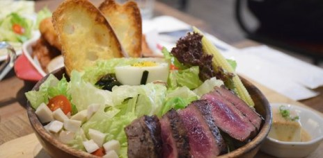 【台中早午餐】hoyo café台中早午餐推薦,分量足夠價格公道!
