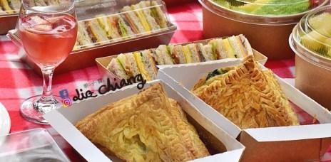 【台中野餐】少女心噴發的野餐,不用自己準備,交給他們就對啦O.S. 義式冰淇淋手作烘焙。