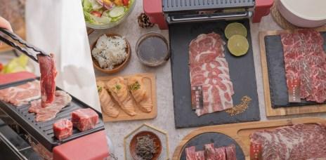 台中北屯區燒烤外帶,外帶品質依然好,在家燒烤也超有儀式感_富田和牛燒肉。
