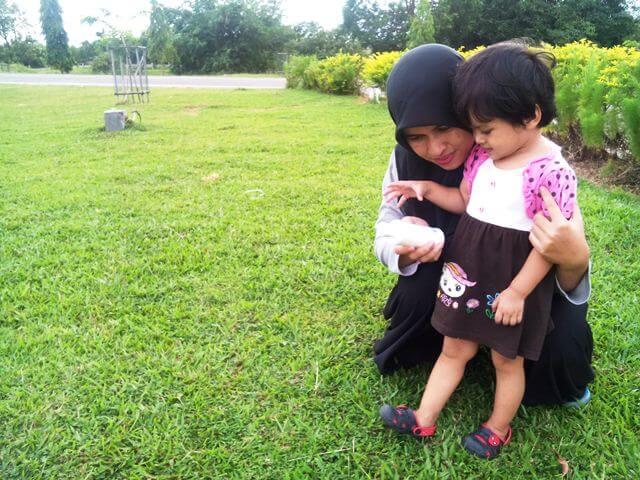 Cerita mama, Naqiya, dan Lactacyd Baby