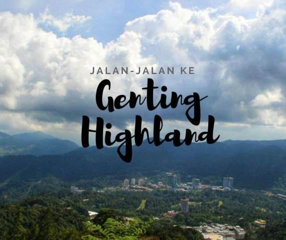 wisata genting highland