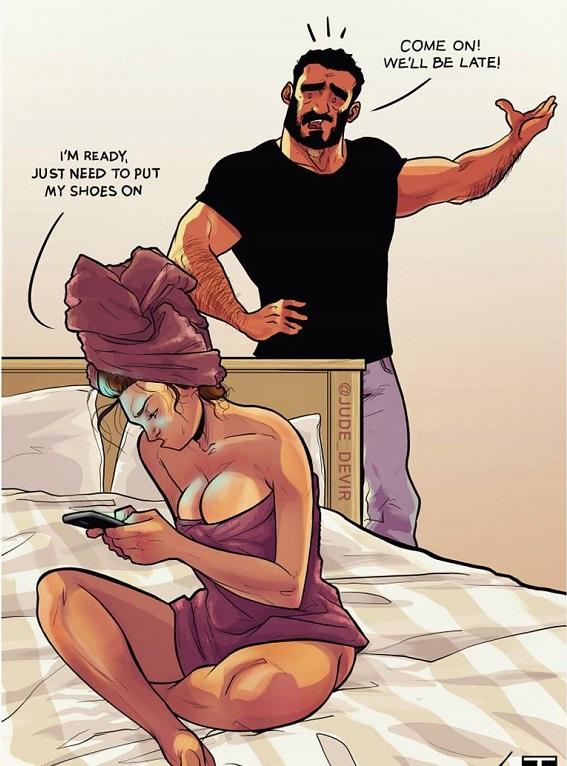 Смешные картинки про отношения
