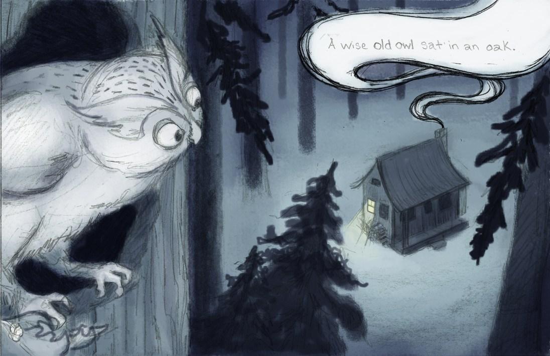 Elizabeth Goss - A wise old owl sat in an oak