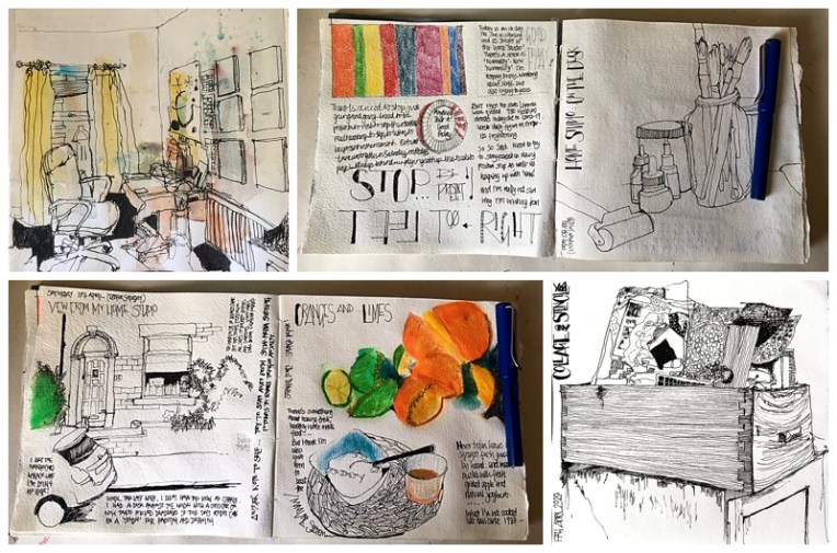 containment vs expansion everyday stories sketchbook.