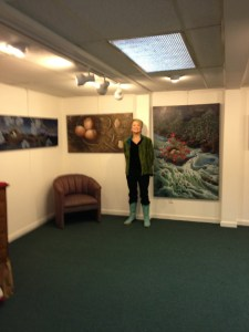 Opening at the North East Kingdom Artisans Guild in St. Johnsbury, Vermont.