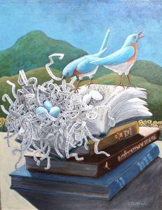 Woven Word Nest