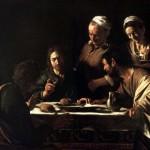 Carravaggio supper at Emmaus