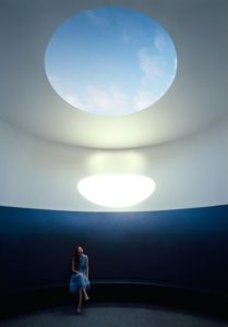 James Turrell, architectural installation, The Color Inside.
