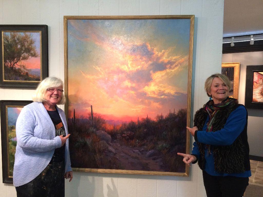 Celebration of Fine Art, Scottsdale Arizona - Liza Myers, Painter