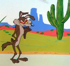 I learned about the west from Wile E. Coyote illustrations by Chuck Jones.