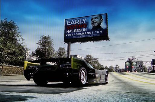 Xbox Live Video Game Barack Obama Ad