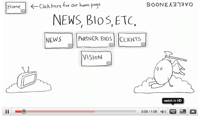 BooneOakley Website on YouTube