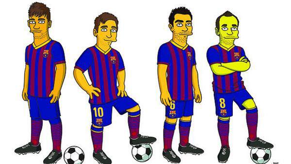 Симпсоны и чемпионат мира по футболу 2014