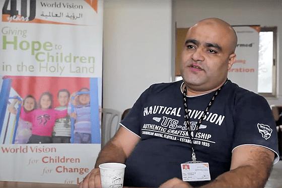 Mohammed El-Halabi, festgenommener Leiter der Zweigstelle von »World Vision« im Gazastreifen