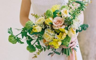 Warm colour palette wedding ideas