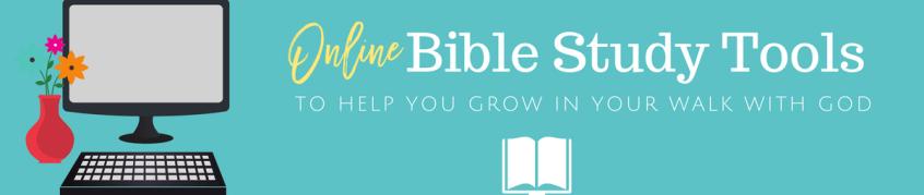 online bible study tools image