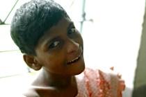 Teresa, a resident of Shanti Dan.