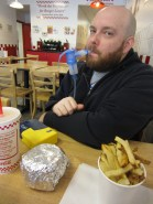 Breathing treatment at Five Guys
