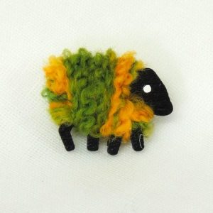 LizzyC|Sheep|Pin|green_and_gold