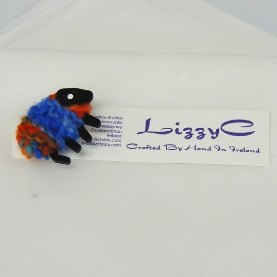 LizzyC|Sheep|Brooch|on_card